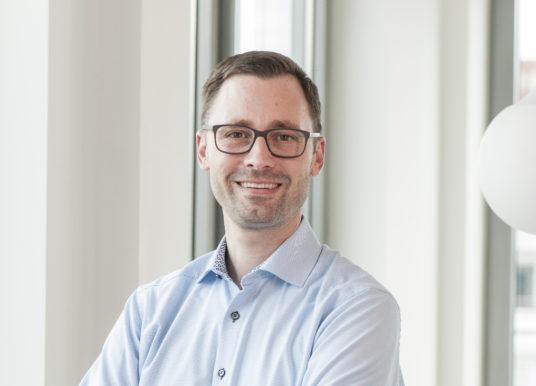 Eric Sommer, Leiter Bereich Dienstleistungen