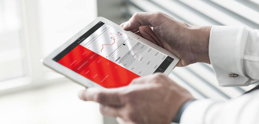 Finanzcockpit mit individuellen Sparkassen-Services und enger Verbindung zur App Unterschriftenmappe 5