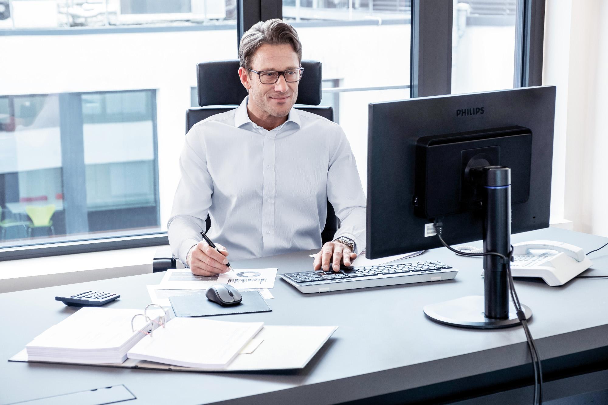 Internet Banking am Rechner