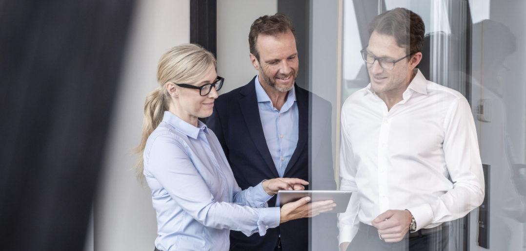 Partner in Digitalisierung: Finanzinstitute und Firmenkunden 1
