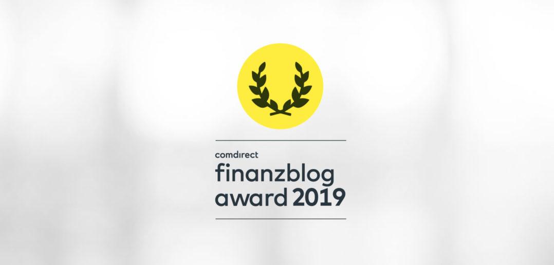Star Finanz für Finanzblog Award 2019 nominiert 4