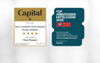 Star Finanz zählt zu den Top-Arbeitgebern und -Ausbildern Deutschlands 12