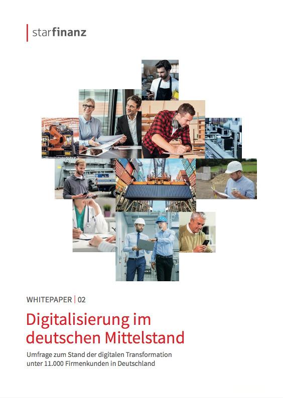 Star Finanz Umfrage zur Digitalisierung im deutschen Mittelstand unter 11.000 Firmenkunden 6