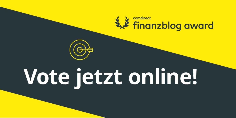 Star Finanz für Finanzblog Award 2020 nominiert 3