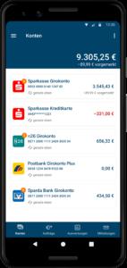 StarMoney App: Mobiles Multi-Banking im neuen Design 4