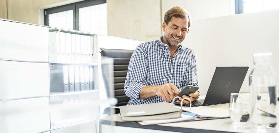 Digitalisierungsumfrage: Langsames Internet und Datenschutzanforderungen als größte Herausforderungen für Unternehmen 2
