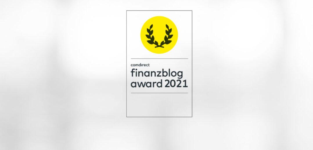 Star Finanz für finanzblog award 2021 nominiert 2