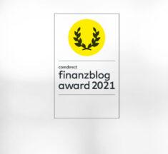 Star Finanz für finanzblog award 2021 nominiert